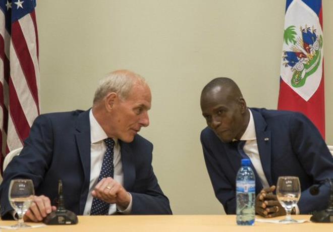 """EE.UU y Haití acuerdan unirse para """"resolver"""" el problema de la migración"""