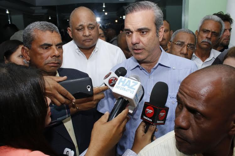 Luis Abinader dice el Gobierno de RD no tiene un plan concreto contra la corrupción