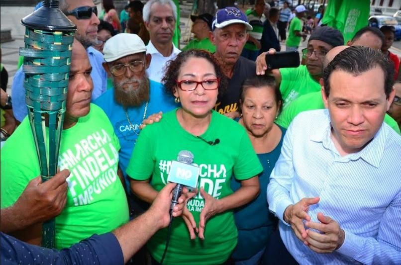 Colectivo Marcha Verde reclama salida de Odebrecht de República Dominicana