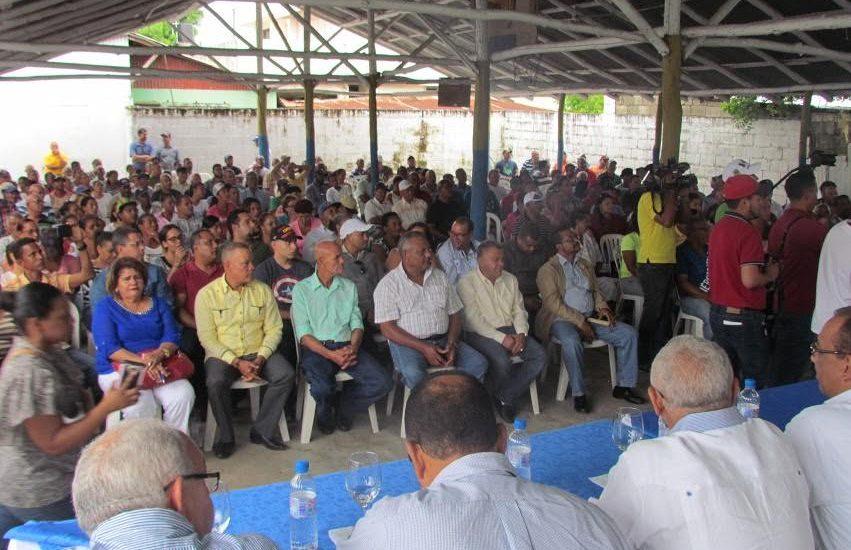 PRM tributa apoyo a su presidente encarcelado, Andrés Bautista