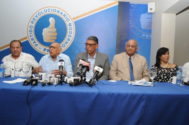 PRM rechaza medida contra dirigentes; convoca asamblea nacional este jueves