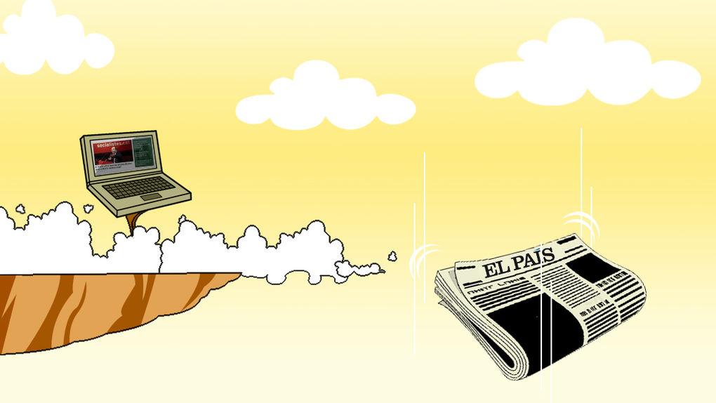 Cinco años de pesadilla para el papel: periódicos pierden miles ejemplares