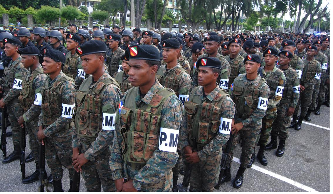 Ejército dominicano desplegará otros574 soldados en la frontera con Haití