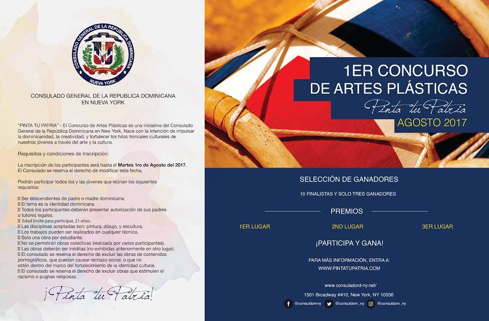 Consulado RD anuncia concurso juvenil de artes plásticas