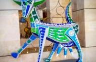 Exposición Chiva Gloria parará en hoteles Viva Wyndham