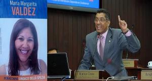 ITALIA: Marcos Cross llama a votar por dominicana aspira a concejal