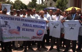 Alcalde de Baitoa reclama acueducto