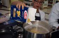 Productos Barilla realizan show de cocina