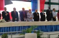 Danilo entrega liceo y un centro de atención primaria en La Nueva Barquita