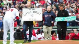 BOSTON: Alcaldía honrará David Ortiz con nombre de una calle