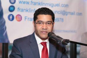 LAWRENCE: Dominicano Franklin Miguel lanza aspiraciones a concejal