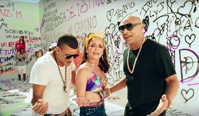 """Diana Fuentes y Gente de Zona experimentan con el """"pop tropical"""""""