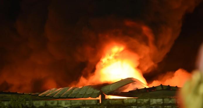 Industriales expresan solidaridad con empresa afectada por incendio