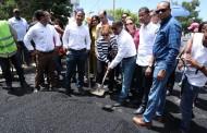 SJM: Lucía Medina encabeza asfaltado de calles