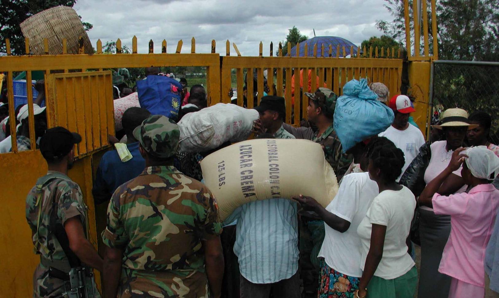 Autoridades Haití vuelven impedir paso de productos adquiridos R.Dominicana