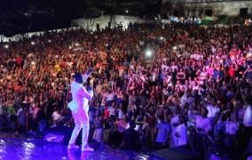 Multitudinaria asistencia en concierto artistas dominicanos en PP