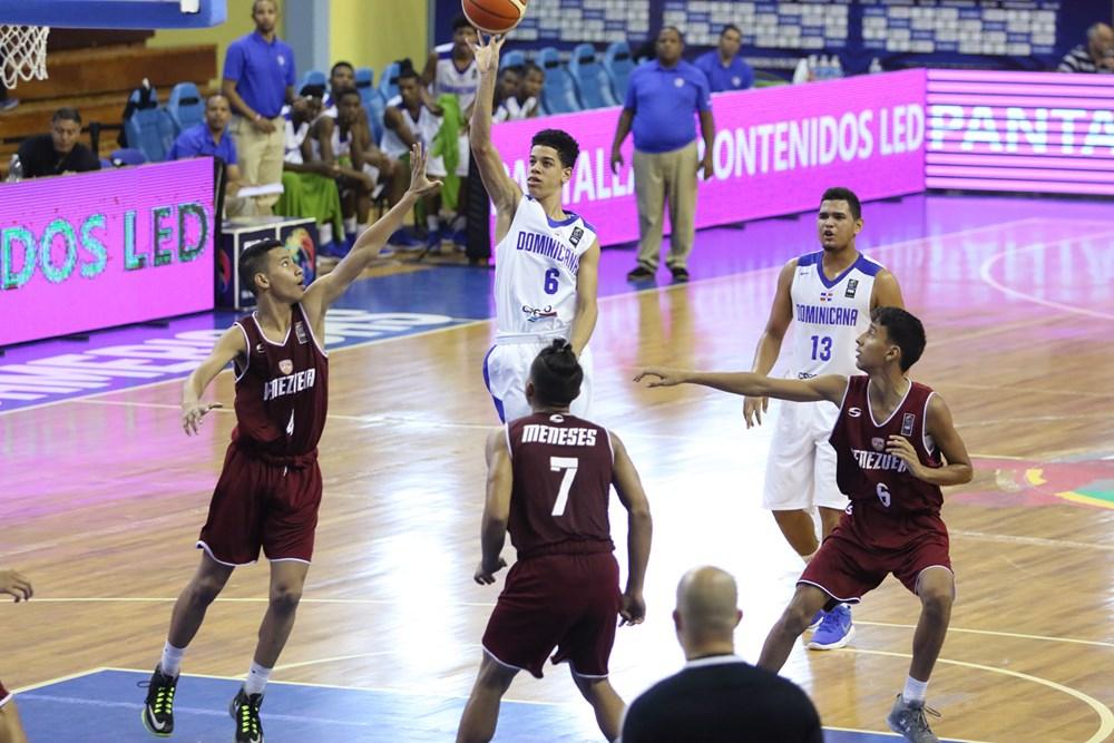 RD vence Venezuela en Premundial Sub-16 de basket