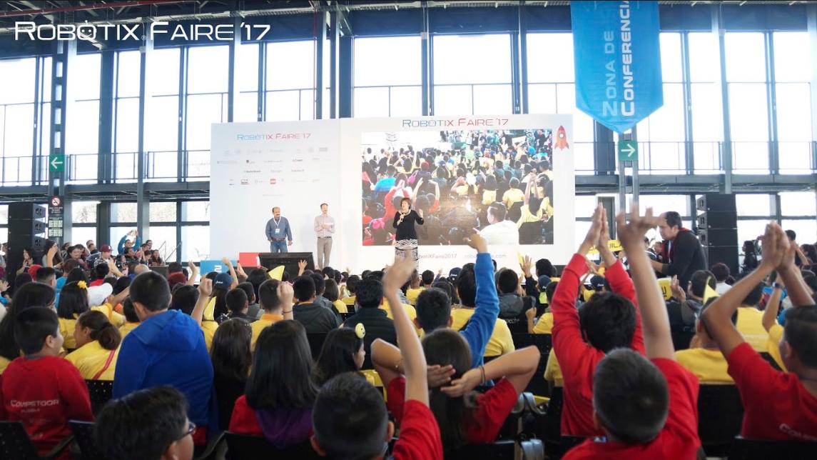 RobotiX Faire, reunió miles de niños latinoamericanos en México