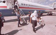 Llegan al AILA 109 ex reos dominicanos deportados desde los Estados Unidos