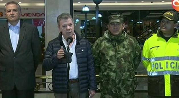 COLOMBIA: Santos ofrece recompensa por responsables atentado mató tres
