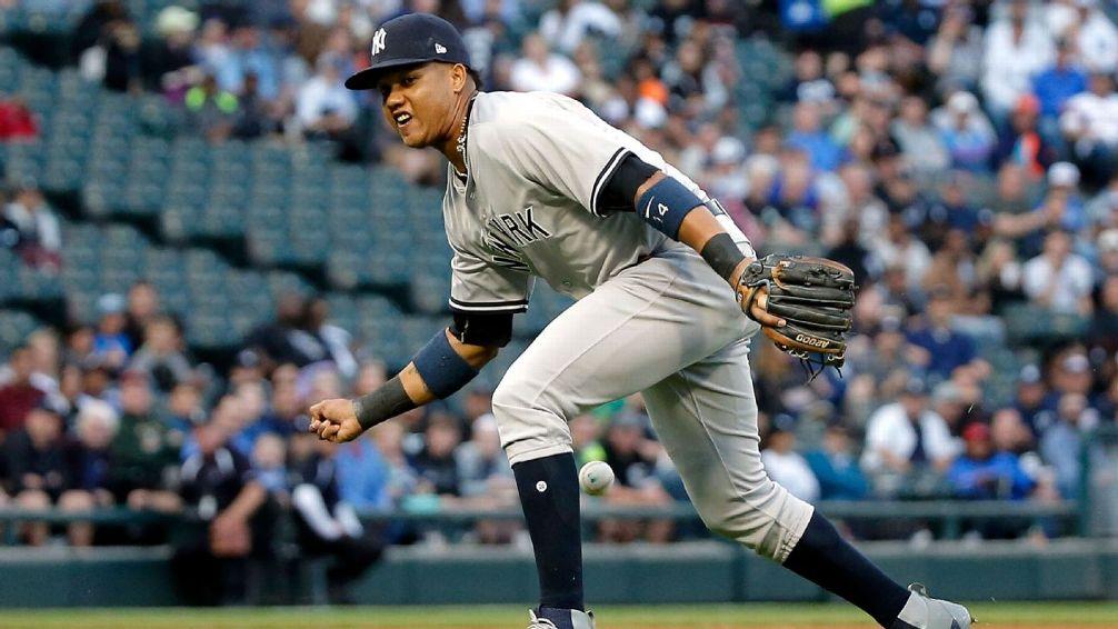 Starlin Castro a la lista de lesionados de los Yankees