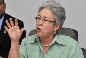 Ministra de Salud, Altagracia Guzmán.