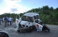 AUTOVIA DEL ESTE: Choque deja una persona muerta y a otras dos heridas