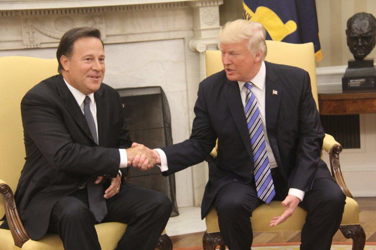 WASHINGTON: Trump recibe Presidente Panamá en la Casa Blanca