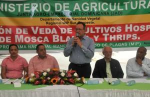 Ministerio de Agricultura anuncia  veda a cultivos hospederos Mosca Blanca y Thrips