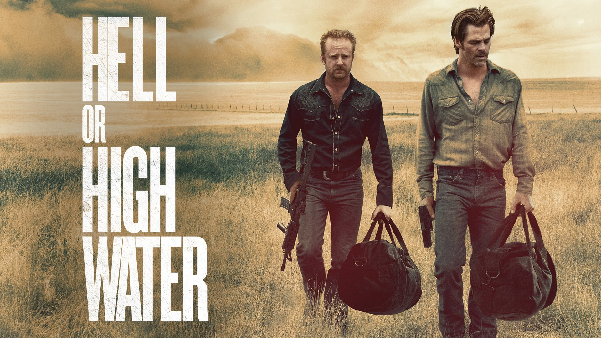 """""""Hell or High Water"""": Dinero, tiroteos y ladrones"""