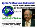 Agencia de México designa a Rodolfo Espinal en RD