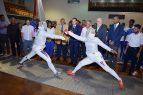 Inicia el Torneo Nacional para Mayores de Esgrima