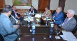 Senadores y Ministro Agricultura evalúan situación agropecuaria