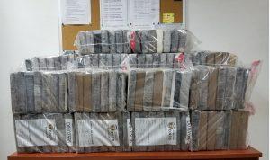 Decomisan 60 paquetes de drogas en zonas de la República Dominicana