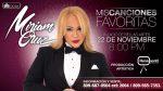"""""""Mis canciones favoritas"""", nuevo espectáculo de Miriam Cruz"""
