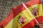 Medio centenar se concentra en Santo Domingo por unidad España