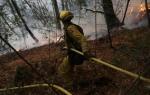 Los vientos dan tregua a incendios en California