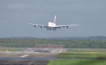 ALEMANIA: Avión mas grande del mundo pasa susto al aterrizar