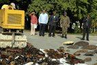 Decomisan decenas de objetos de carey en negocios región Este