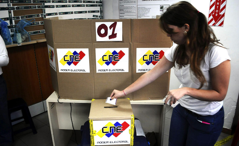 Lucharemos por elecciones democráticas en Venezuela — Borges
