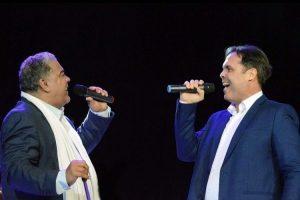 DannyRivera, Frank Ceara y Maridalia Hernándezen concierto