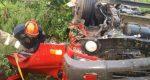 Un muerto y un herido deja vuelco de un camión en SPM