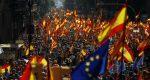 Miles marcharon en Barcelona contra independencia de Cataluña