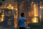 CALIFORNIA: Incendio arrasa edificios y cientos evacuados