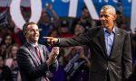 Obama hace campaña por primera vez desde que dejó Casa Blanca
