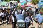 Sepultan restos del asesinado catedrático Yuniol Ramírez