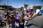 La Policía haitiana dispersa una marcha en contra de la corrupción