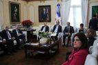 Representantes entidades educativas presentan avances al Presidente