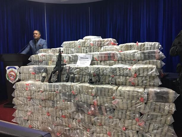 Ocupan 39 paquetes de drogas en Puerto Caucedo