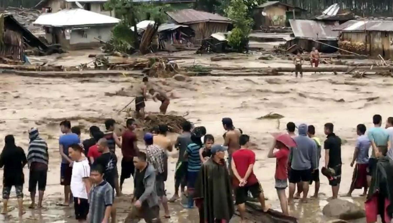 Al menos 133 personas mueren en Filipinas por inundaciones